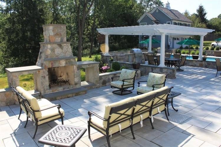 ds warmth, ambiance and can be a great place to hang a TV in your outdoor  space