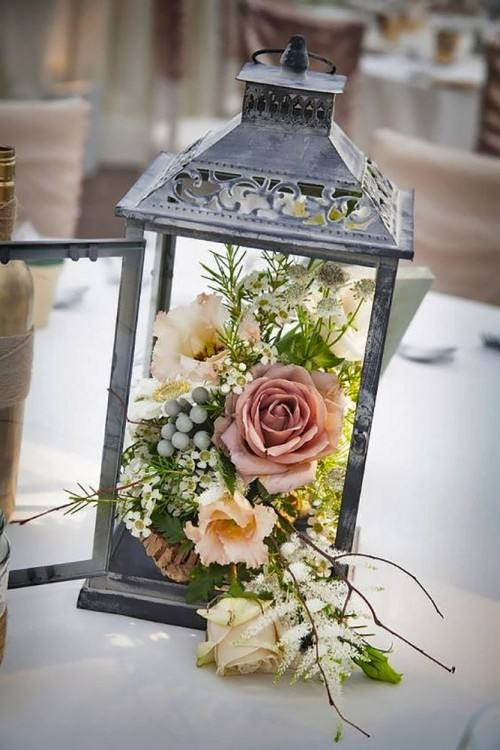 lantern table centerpieces lantern centerpiece for rustic themed wedding  lantern table decoration ideas