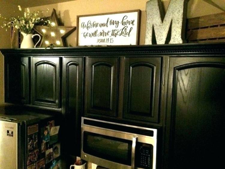 Top Of Kitchen Cabinet Decor Ideas How To Decorate Above Kitchen Cabinets  For How To Paint Kitchen Cabinets For Popular Kitchen Cabinet Top Of Kitchen