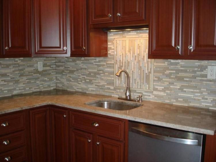 Image of: adorable subway tile backsplash kitchen