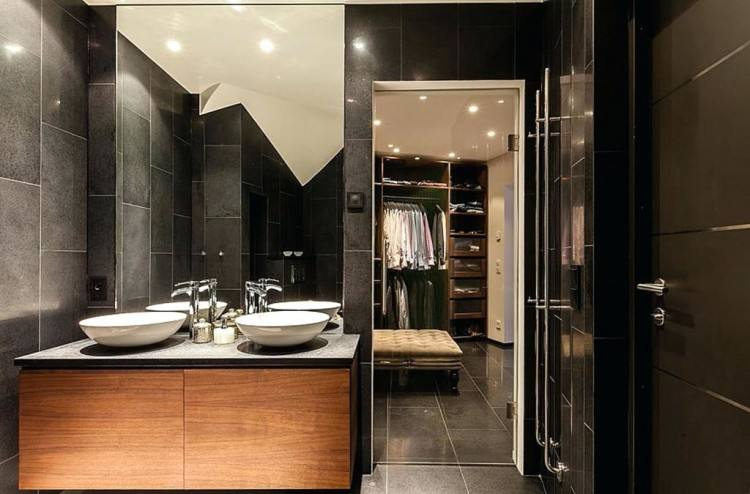 bathroom and walk in closet designs master