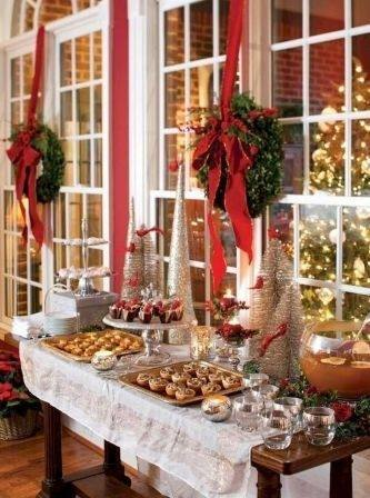 18 Christmas Dinner Table Decoratio