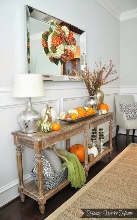 Truly, the console table