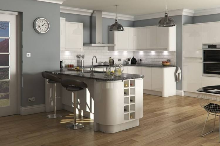 Full Size of Cabinets Modern White Gloss Kitchen Exceptional Small  Scandinavian Design Ideas With Cabinet And