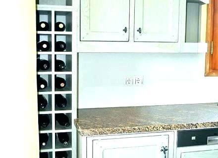 Kitchen Cabinet Wine Rack Kitchen Cabinets With Wine Racks Kitchen  Remodeling And Custom Regarding Elegant Property Kitchen Cabinet Wine Rack  Ideas Under