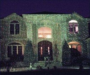star shower laser light target outdoor lights projector christmas show ligh
