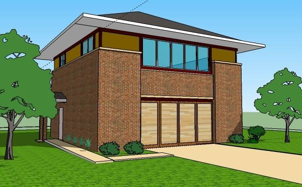 Wooden thoons in place of the brown pillars for a modern classic mix feel  House Colors · House ColorsIndian House Plans3d House PlansFront