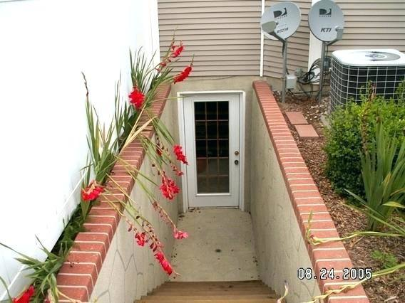 outside basement entrance ideas trend home design cover covered exterior
