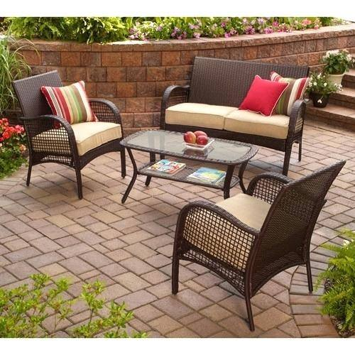patio furniture sets walmart loveseat bench loveseat bench yhome wicker patio  furniture sets walmart tuscan piece outdoor set 07c wicker patio furniture