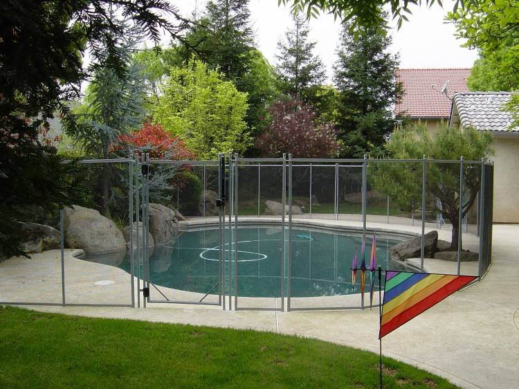 outdoor pool fence designs photos best safety home depot glass