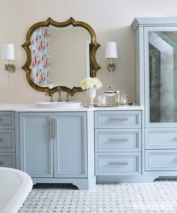 From vintage fixtures to  bold wallpaper patterns, these beautiful bathroom Decorating ideas will  make your