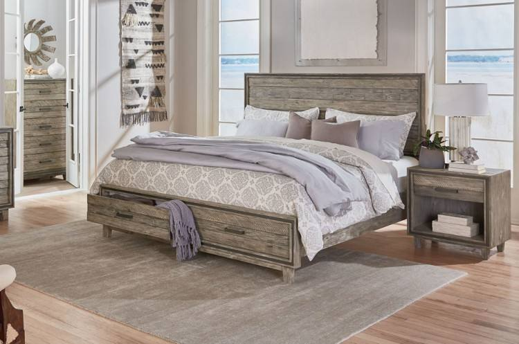 Home Trends &Design London Loft Collection King Bed