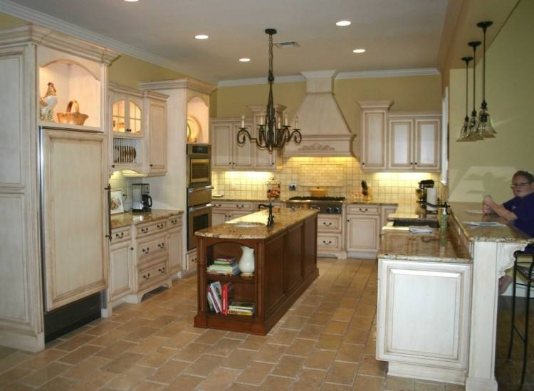 mediterranean kitchen design great with flush by interior contemporary