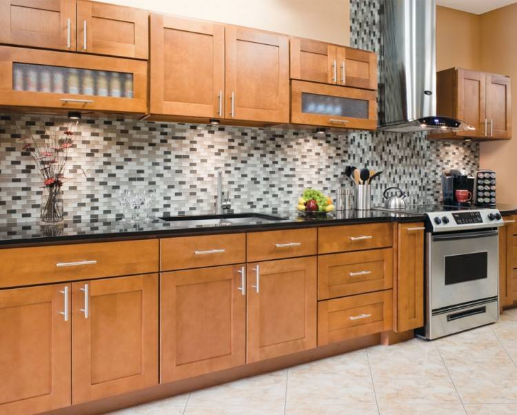 Full Size of Cabinets Oak Shaker Style Kitchen For Build The Attractiveness  Of Itsbodega Home Design