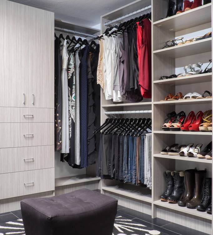 Man's closet made from reclaimed good by Green Furniture Design