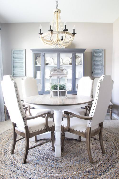 DIY: Reupholstered Dining Room Chairs
