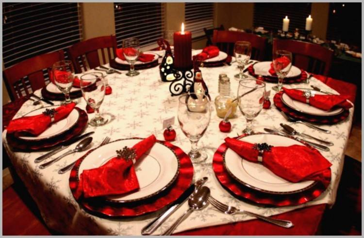 25 Christmas Table Decorations Ideas For This Year Decoration 18
