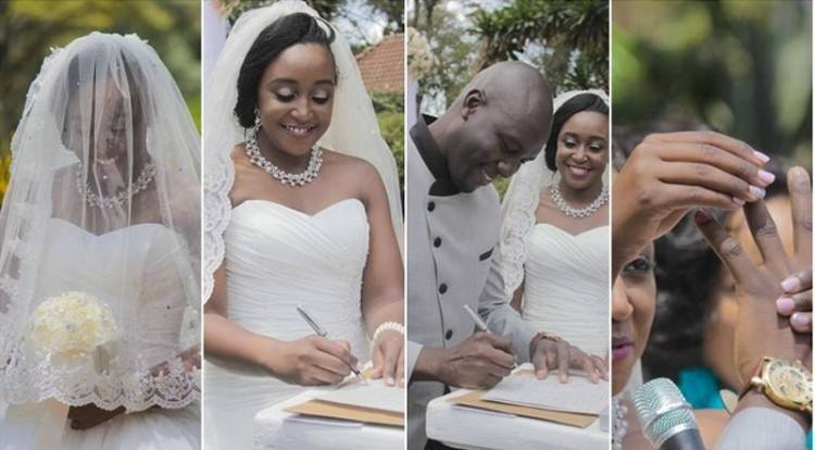lace wedding gown kenya