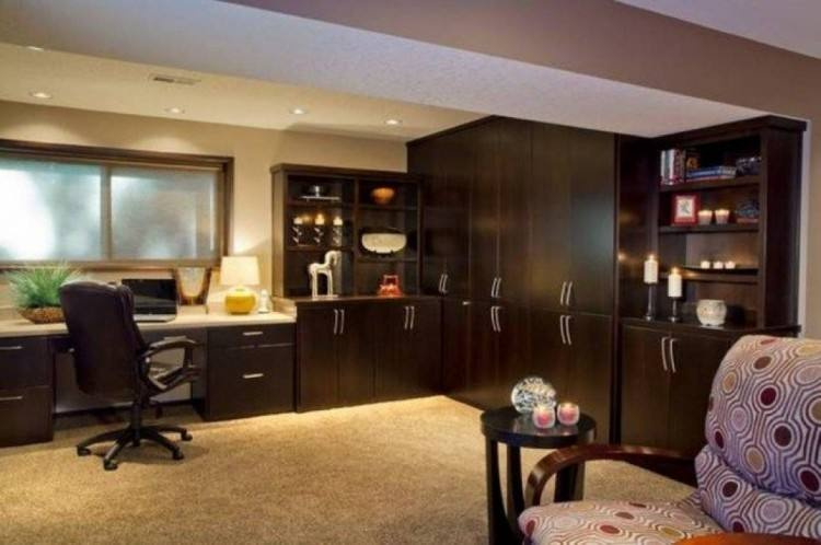 Large Size of Modern Home Office Decorating Ideas Desk Pinterest Small  View In Gallery Basement Extraordinary