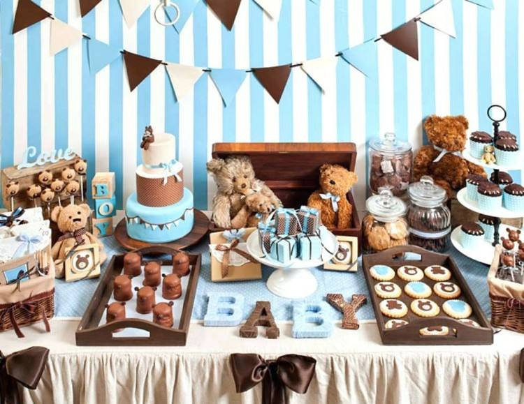 Full Size of Baby Shower:40 Awesome Blue And Brown Baby Shower Decorations  Sets Modern
