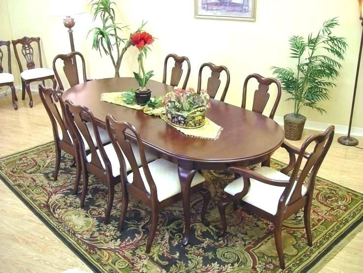 black and cherry dining table collection furniture store room set  thomasville for sale