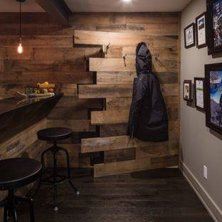 How to Paint a Basement Ceiling with Exposed Joists for an Industrial Look  | Unfinished Basement Ideas | Pinterest | Basement, Basement remodeling and