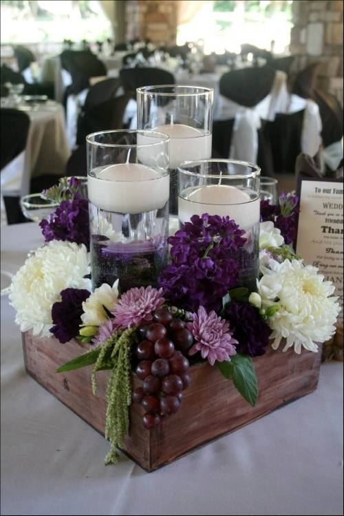 flower table decorations simple centerpiece decorate the round