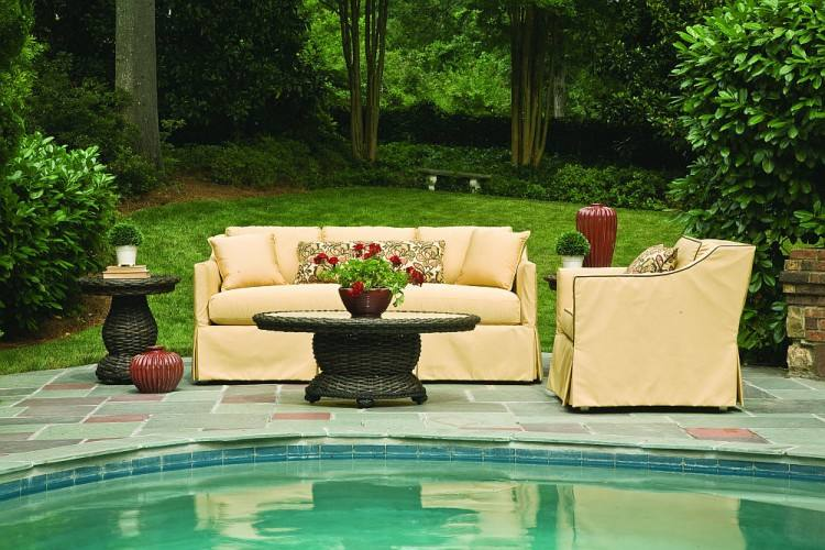 harrison patio furniture wicker chairs thresholdtm collection