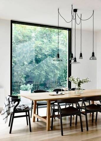 scandinavian design dining table set 2 chairs room furniture