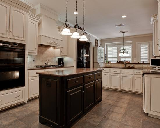 Two Tone Kitchen Cabinets  Ideas