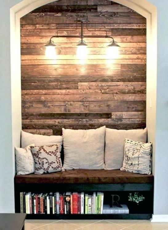 rustic office decor home farmhouse with brown leather chairs wood beams  stone wall images