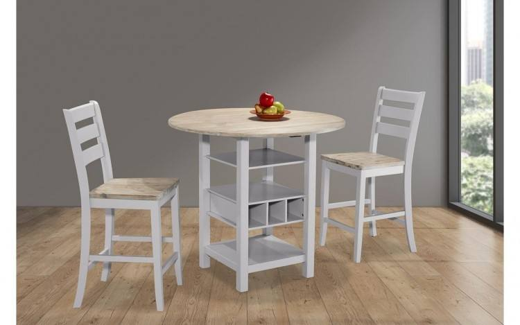 Color: Bernards Hollister  Casual Dining Table