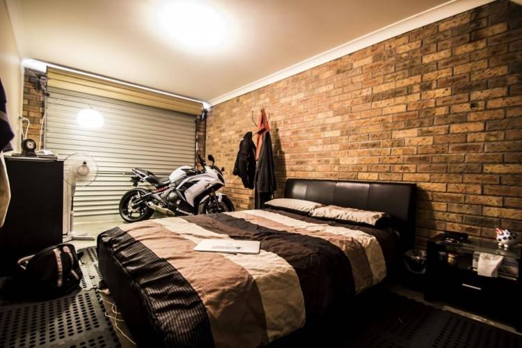 garage bedroom ideas