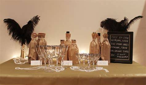 Gangster Anniversary Party {Adult Party Ideas} This amazing gangster themed  party was inspired from the movie 'The Godfather'