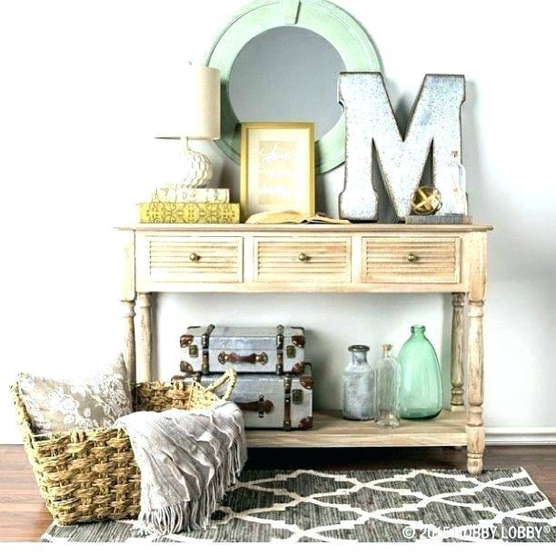 console table decor of new wall entry decoration decorating ideas pictures