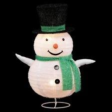 Color: Holiday Living  Inflatable Airblown Baby Snowman Outdoor Christmas Decoration