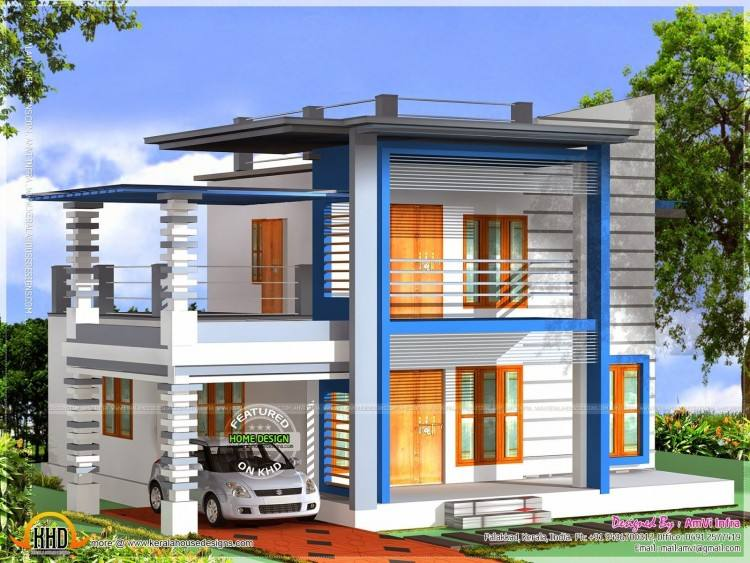 Contemporary Home Plans April 2017 Kerala Home Design and Floor Plans in  your computer by clicking resolution image in Download by size: