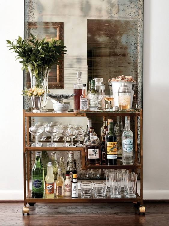 SaveEnlarge · Small Basement Bar Ideas