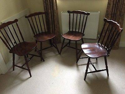 antique spindle back dining chairs chair