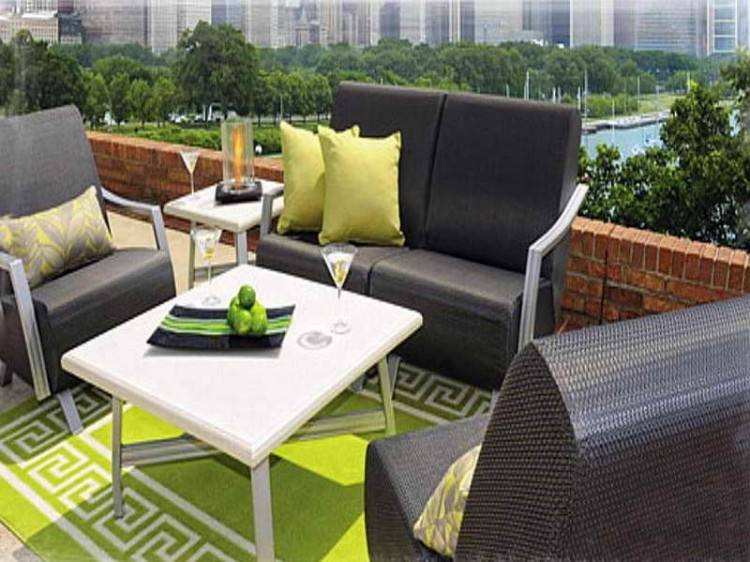 garden furniture small spaces outdoor for