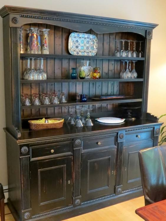 The Stylish Kitchen Hutch Furniture With Regard To InspireMake Photo  Gallerydining Room Hutch Decorating Ideas For