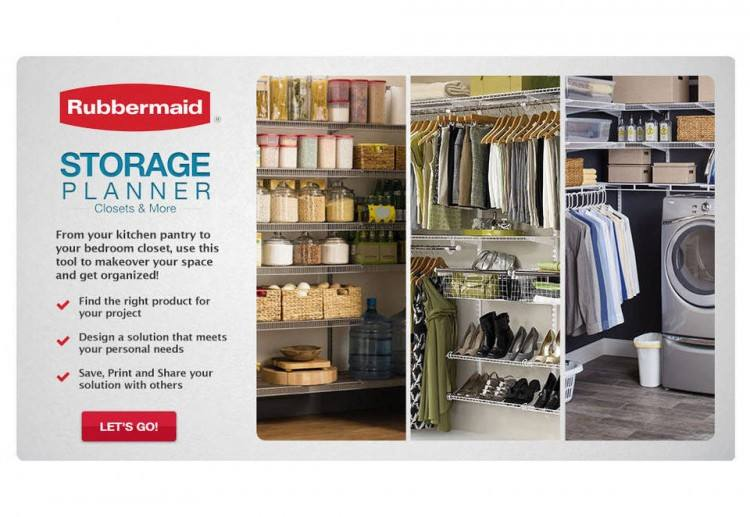 series closet system by products rubbermaid