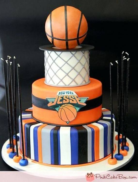 easy basketball cake decorating ideas some cool themed cakes 1