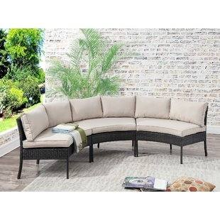 Circle Semi Modern Outdoor Ideas Thumbnail size Semi Circle Outdoor Patio  Furniture Ideas Raised Designs