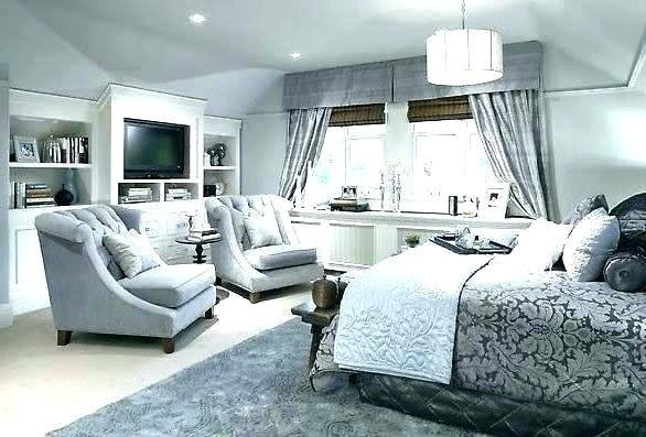 If you have a spacious bedroom, select a rug that is large enough to  underneath your entire bed and both of your nightstands