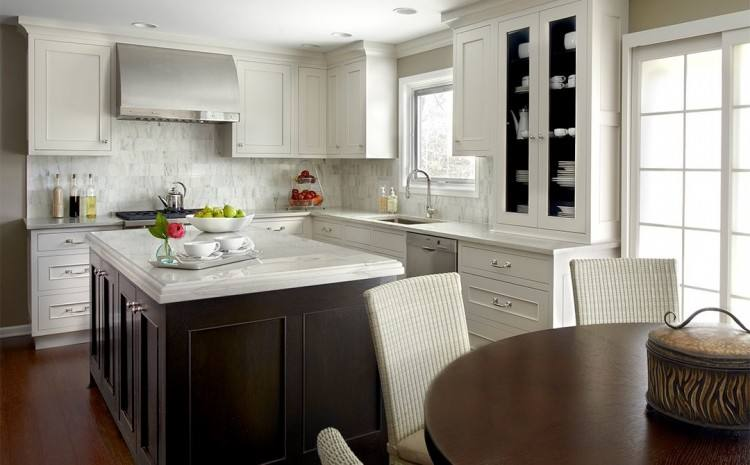 Hidden Small Kitchen Appliances Cabinet Transitional Kitchen For Small  Countertop Cabinet Renovation