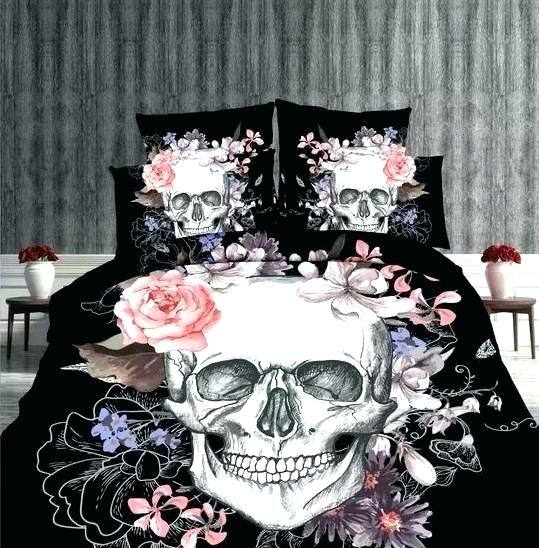 skull bedroom decor