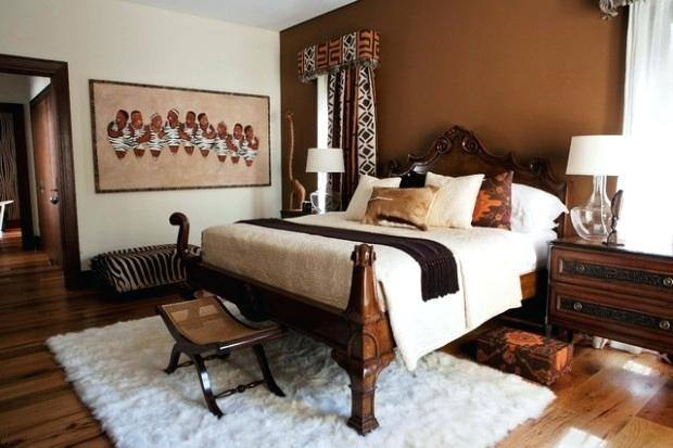 african bedroom decor themed