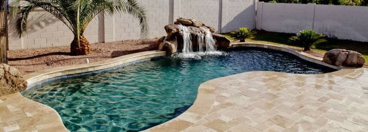 pebble tec pool repair phoenix pictures with midnight blue finish