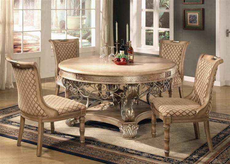 Stylish luxury classical interior of a dining room